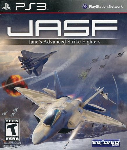 North American version JASF JANES ADVANCED STRIKE FIGHTER (domestic version main body operable)