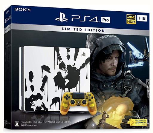 PlayStation 4 Pro body DEATH STRANDING LIMITED EDITION (HDD1TB / CUHJ-10033)