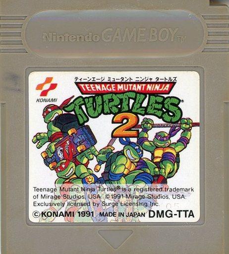 Teenage Mutant Ninja Turtles 2 (condition: ROM cassette only, ROM cassette condition difficult)