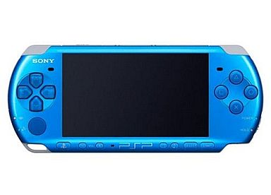 (no box or manual) (No box or manual) PSP Body Brant Blue (PSP - 3000 VB / Body single item / without accessory)