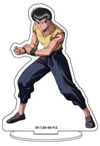 """01. Yusuke Urami Character Acrylic Figure """"Yu Yu Hakusho"""""""