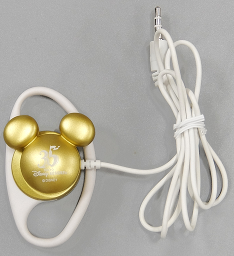 "Mickey Mouse Earphones for Hapiest Memory Maker ""Tokyo The Walt Disney Company Resort 35th Anniversary Happiest Celebration!"" Tokyo The Walt Disney Company Resort Limited"