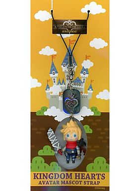 "Cloud Avatar Mascot Strap ""Kingdom Hearts Mobile"""