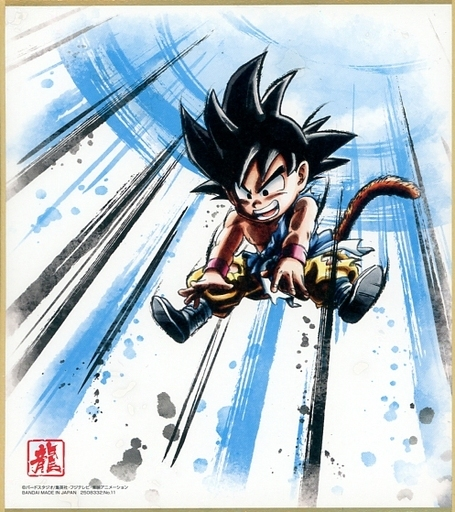 11 `` DRAGON BALL Shikishi ART10 ''