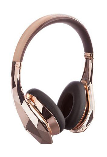 MONSTER DIAMONDZ Dynamic Closed Headphones (Rose Gold) [MH DMZ ON RGLD CU]