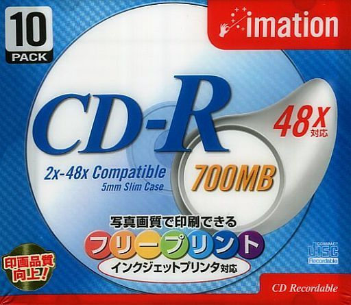 CD-R 700MB 48 times speed pack of 10 for image data [CDR80Z PWRX10S]