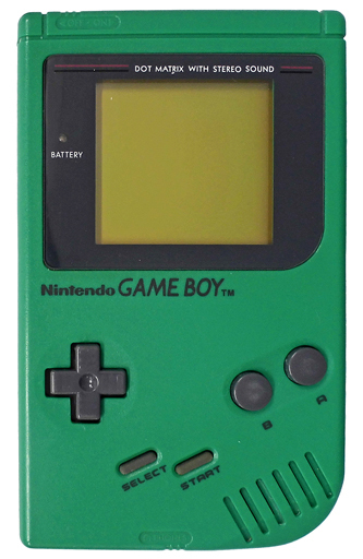 (no box or manual) Game Boy Bros. Body Green (No boxes / instructions)