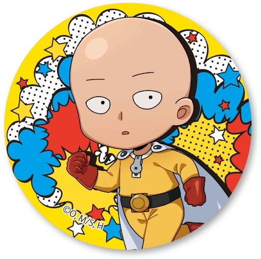 "Saitama normal ver. Toco can batch ""Wanpanman"""