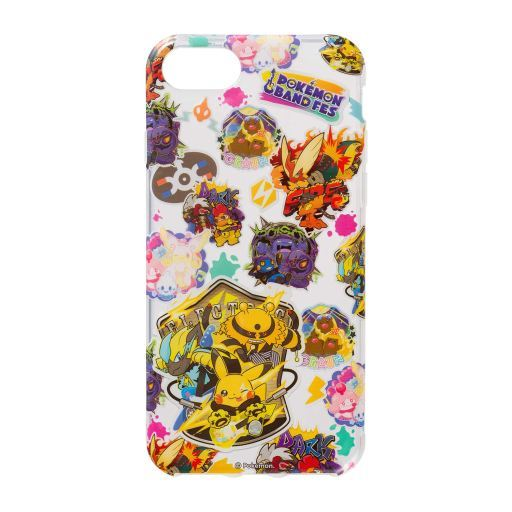 "Pokemon Band Fest Logo Design Soft Jacket for iPhone8 / 7 / 6s / 6 ""Pokémon"" Pokemon Center Limited"
