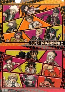 """A. Aggregate (frame rate) A4 clear file """"Super Dangan Rompa 2 Goodbye Despair Gakuen"""""""