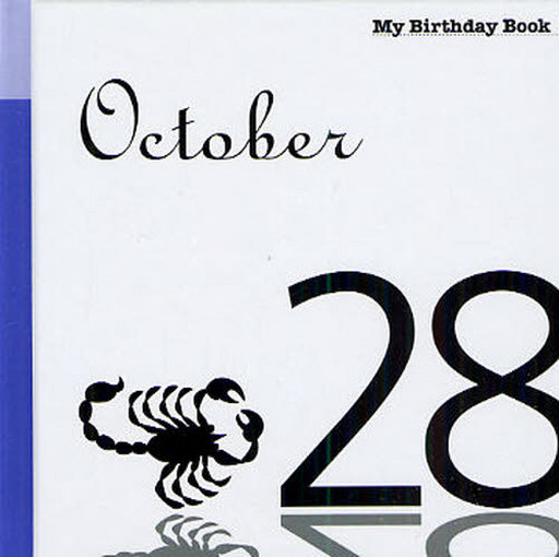 My birthday book October 28