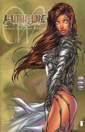 Witchblade; Deluxe Collected Edition(纸背景 )