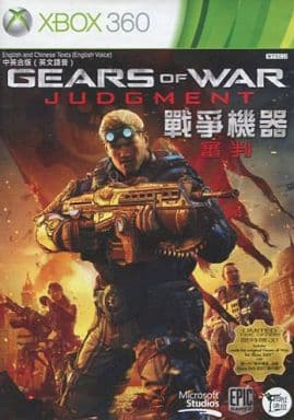 Asian version GEARS OF WAR JUDGMENT (domestic version can be operated)