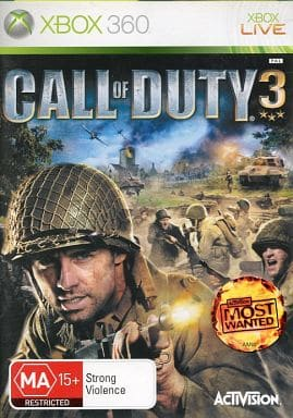 CALL OF DUTY 3 duty 3 (domestic version can be operated)