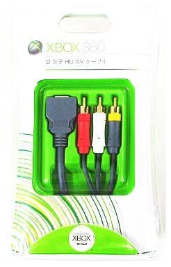 D terminal HD AV cable