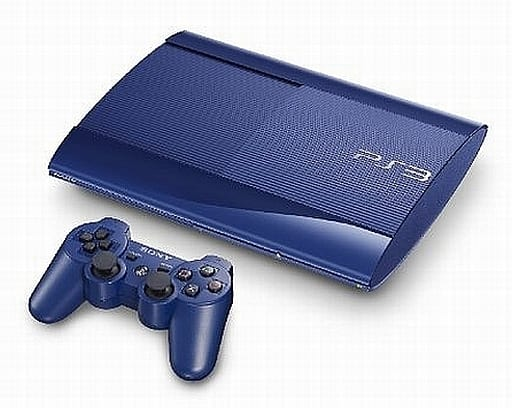 PlayStation 3 Azra It Blue (HDD250GB) (Condition : AV cable missing)