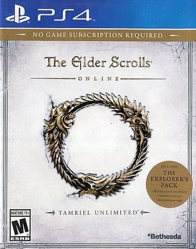 North America Edition THE ELDER SCROLLS ONLINE (For ages 18 and over, Domestic Edition Can Be Used)