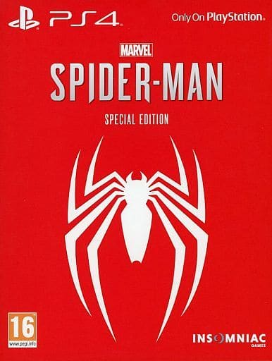 EU version Marvel's Spider-Man [Special Edition] (Domestic version can be operated)