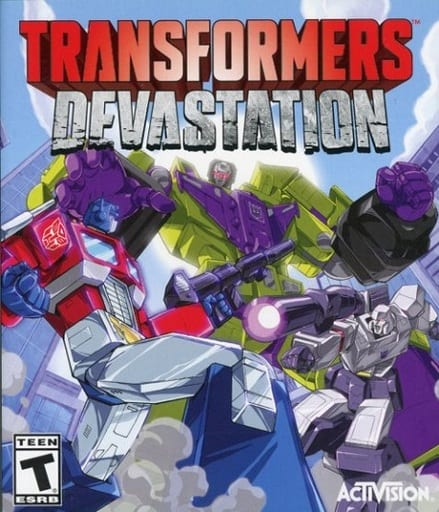North American version of TRANSFORMERS : DEVASTATION (domestic version can be operated)