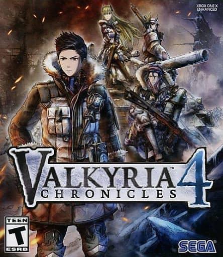北米版 VALKYRIA CHRONICLES 4 (国内版本体動作可)