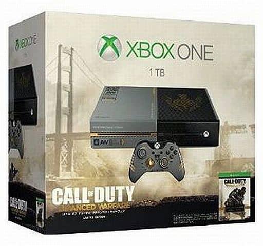 XboxOne本体 1TB「コール オブ デューティ アドバンスド・ウォーフェア」リミテッドエディション