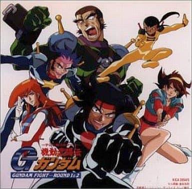 Mobile Fighter G Gundam GUNDAM FIGHT ROUND 1 & 2