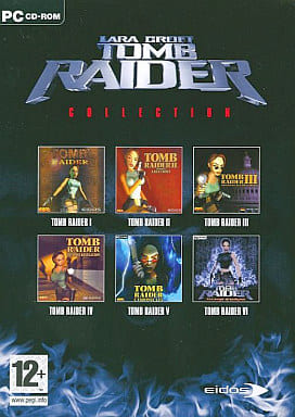 THE TOMB RAIDER COLLECTION <3-Volume Set with Box>