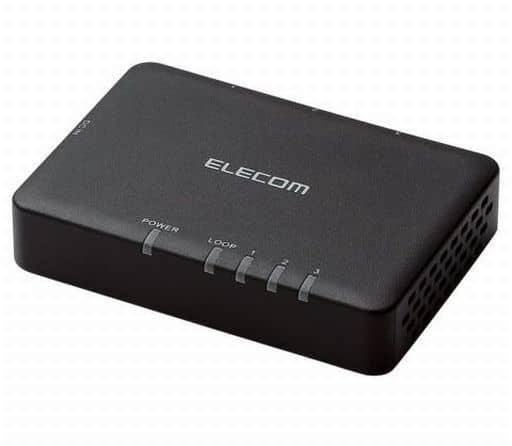 1000BASE-T Capable Switching Hub 3 Ports [EHC-G03PA-SB]