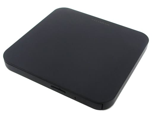 Portable DVD Drive Black [DVRP-U8LK]