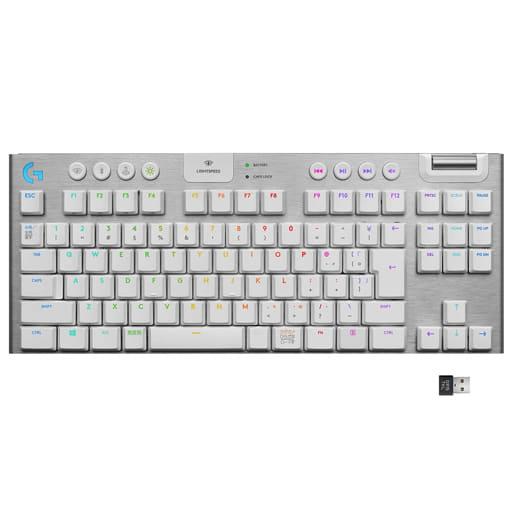 LIGHTSPEED Wireless RGB Mechanical Gaming Keyboard G913 (White) [G913-TKL-TCWH]