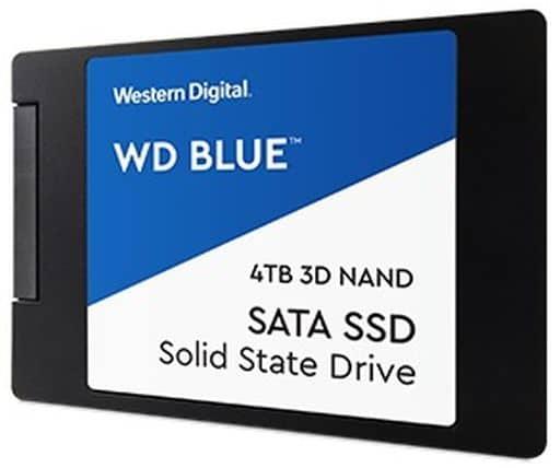 """2.5 """"Internal SSD WD Blue/SATA/4TB [WDS400T2B0A]"""