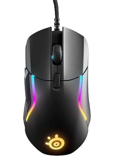 Wired RGB Gaming Mouse RIVAL5 (Black) [62251]