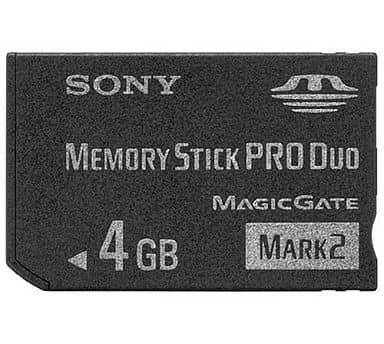 Memory Stick Pro Duo Mark2 4 gb
