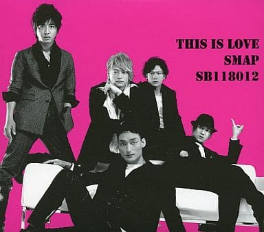 SMAP / This is love [First Release Limited Edition SB version]|Music  software | Suruga-ya.com