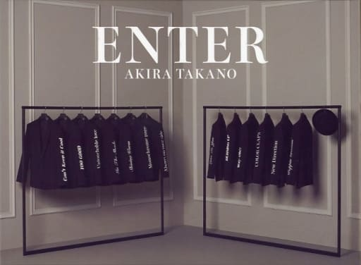 Akira Takano / ENTER [Limited first press edition with DVD]