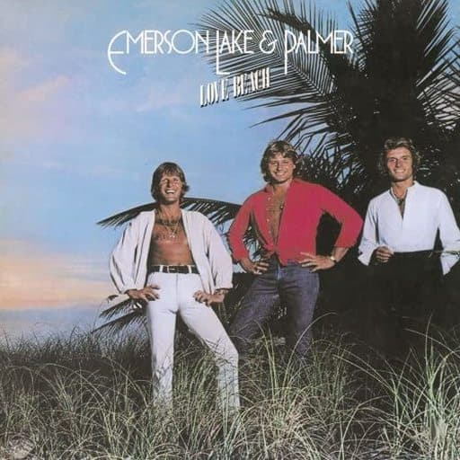 Emerson, Lake & Palmer / Love Beach (paper jacket type)