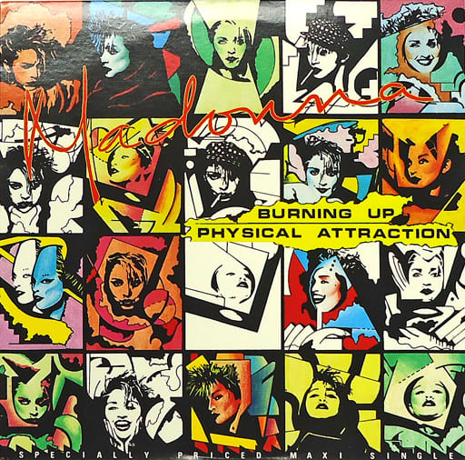 """MADONNA / """"BURNING UP"""" / """"PHYSICAL ATTRACTION"""" [Import]"""
