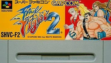 (without box&manual) Final Fight 2