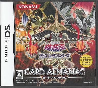 (without box&manual) Yu-Gi-Oh! Duel Monsters GX-CARD ALMANAC -