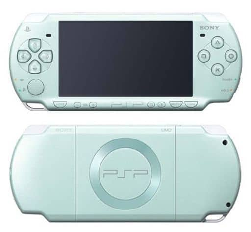 (without box&manual) PSPs Body (PSPs - 2000 mg Mint Green / Body Single Item / No Accessories)