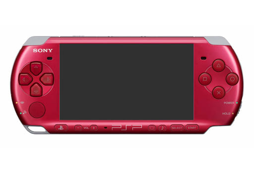 (without box&manual) PSP-Body Radiant Red (PSP-Model 3000 rr / Body Single Item / No Accessories)