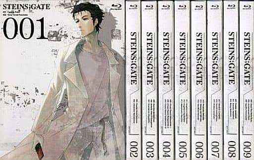 STEINS;GATE First Press Limited version 9-volume set