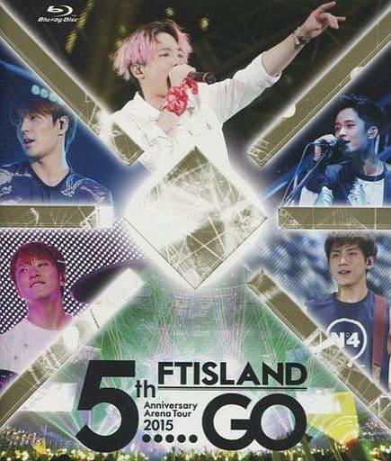"F.T. Island / 5 th Anniversary Arena Tour 2015 ""5. GO"" [Primadonna limited edition]"