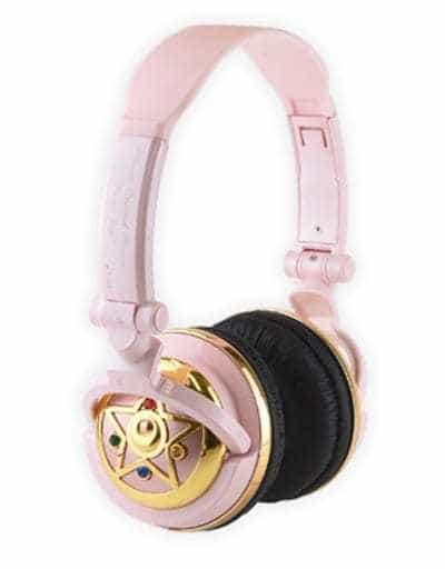 [Damage] Crystal Star Compact Compact Stereo Headphone 「 Pretty Guardian Sailor Moon 」