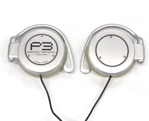 [Damaged / Package Missing] P3 Logo Earphone 「 Movie PERSONA 3 THE MOVIE #1 Spring of Birth 」