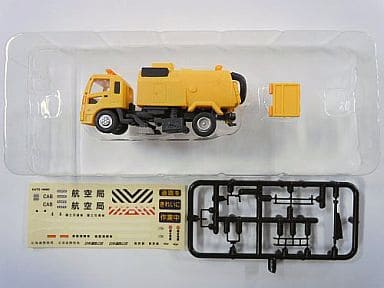 """1/150 high-speed road surface cleaning car HS-60 (yellow, standard color) """""""" N Geo Collection Special Vehicle Series Vol. 1 """""""""""
