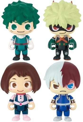 Set of 4 Kinds 「 POPSULE - Popcell - MY HERO ACADEMIA 」