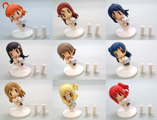 "All nine sets ""Code Mascot Love Live! Sunshine !!"""