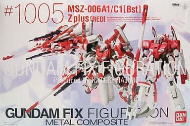 Gundam Fix Figuration #1005 Metal Composite MSZ-006A1//C1 Bst Zplus Red Ver