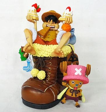 """LOG McCOY One Piece 01 Limited to WEB Ver. Monkey D Luffy & Tony Tony Chopper """"One Piece"""" Pre-painted Completed"""